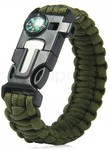 5 in 1 Outdoor Survival Paracord Bracelet  $0.50 USD ($0.68 SGD) Delivered @ Zapals