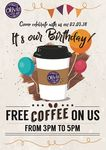 Free Coffee from Olivia & Co. (Friday 2nd March, 3pm to 5pm)