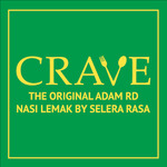 Nasi Lemak with Chicken Wing for $3.90 from CRAVE Nasi Lemak & Teh Tarik via honestbee Food (2pm to 5pm)