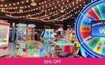 400 Gaming Tokens for $50 (U.P. $66.66) at Fat Cat Arcade [313@Somerset]