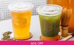1 for 1 Kombucha/Lemonade ($4.80) at Tea Pulse via Fave [previously Groupon]