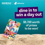 Win a Sentosa FUN PASS™ (120 Tokens) and a 1-Year Sentosa Islander Membership for 4 from Deliveroo