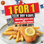 1 for 1 Dory And Chips $13.90 @ Manhattan Fish Market Northpoint City / Causeway Point