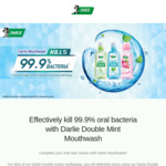 Free Sample of Darlie Double Mint (No Alcohol) Mouthwash Delivered from Darlie