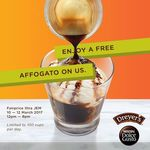 Free Cup of Affogato at FairPrice Xtra from Nescafe Dolce Gusto/Dreyer's (Jem, 10th to 12th March, 12pm to 8pm Daily)