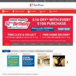 $10 off at FairPrice ($100 Minimum Spend)