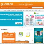 $2 off with Minimum $10 Purchase at Guardian Online (Newly Registered Members)