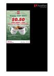 $0.50 Kopi/Teh @ Over 90 Food Fare Cafes (National Servicemen)