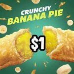 $1 Banana Pie at McDonald's (via App)