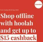 15% Cashback ($15 Cap) on First Offline Purchase via hoolah