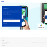 Win $20 or $56 Cashback (150 Winners) from Visa/Google - Use Google Pay with Linked Visa Card on Public Transport