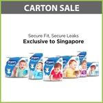 Drypers Carton Sale $31.30 + $1.99 Delivery @ Kidz via Qoo10