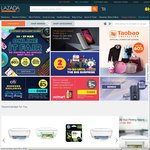 Lazada - 15% off (New Customers) or 12% off (Existing Customers)