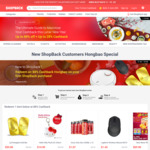88% Cashback on Selected Items at Lazada/Qoo10: Chinese New Year Offer for New ShopBack Users