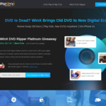 Free Win WinX DVD Ripper Platinum to Backup Kids DVD