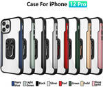 iPhone 12/12 Mini/12 Pro/12 Pro Max Kickstand Case With Rotating Ring Holder AU$29.40 (Save $4.90) + Shipping @Makebuying