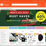 "$5 Off $20 Minimum Spend at Shopee (""Must Haves"" Category)"