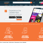 Lazada New Users $10 off $20 Purchase on The App