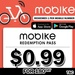 180 Days Mobike Singapore Pass at $0.99 at Qoo10 for First 5000 Pass