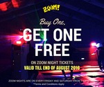 1 for 1 Zoom Night Tickets at Zoom Park