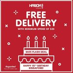 Spend $55, Get Free Delivery at Hanok