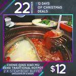 $12 for 2 Steamboat Buffet at Chong Qing Xiao Mu Deng in Downtown East
