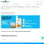 Free Anthelios Sunscreen Sample from La Roche-Posay (Collect In-Store)