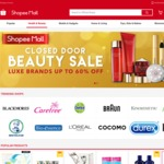 "$5 off $30, $10 off $45 Minimum Spend in ""Health & Beauty"" at Shopee"