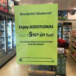 Extra 5% off Fuel at All SPC Stations