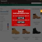 Buy 3 Products and Get 15% Off at Timberland Online Store