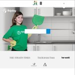 $20 off Cleaning Services with Helpling (New Customers)