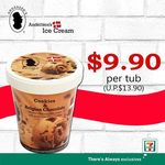 Tub of Andersen's of Denmark Ice Cream for $9.90 (U.P. $13.90) at 7-Eleven