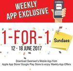 1 for 1 Sundaes at Swensen's via Mobile App (Monday 12th to Sunday 18th June)