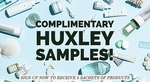 Free Huxley Skincare Samples Delivered from Vanity