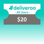 $20 Deliveroo Voucher for $17 at shopee.lifestyle via Deliveroo