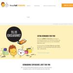 Top Up $50, Get a Bonus $10 Worth of E-Vouchers + Bread & Kopi E-Voucher at BreadTalk (Rewards Members)