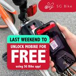 Free Rides with Mobike via the SG Bike App