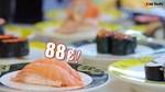 $0.88++ Per Plate (U.P. $1.50) at One Sushi