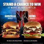 Win a Year's Worth of Burgers (10 Winners) from Carl's Junior