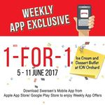1 for 1 Ice Cream & Dessert Buffet at Swensen's ION Orchard (App Required)