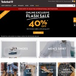 40% off Sitewide at Timberland (Plus Free Foldable Umbrella with $250+ Spend)