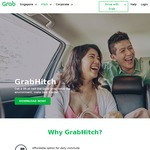 $4 off GrabHitch Rides with Grab (First Time GrabHitch Riders)