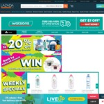 Watsons Lazada - $7 Off Min $30 Order Free Shipping Min $40 Order e.g. 2 x Hada Labo Retinol Lotion $34.40 Delivered