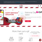 $1 off All Gift Cards at Giftany