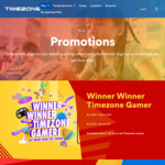 Timezone - Purchase $45 Game Credits for $30, Purchase $100 Game Credits for $60