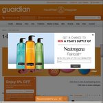 Guardian - up to 60% off Sale + 5% off for Passion Members (Selected Brands) + up to $40 Bonus Voucher with Purchases