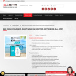 Doctor Anywhere $20 Cash Voucher Promotion with Passion Card