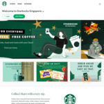 1 for 1 Venti Strawberry Choux, S'mores or Green Tea Frappuccino at Starbucks (Members)