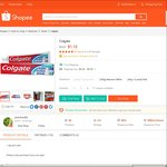 $1.12 for Colgate Toothpaste Delivered from pohchoo82 at Shopee