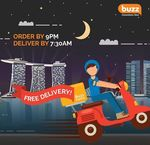 Free Delivery of Breakfast Groceries with $2 Minimum Spend from Buzz Convenience Store/Buzz Express (Yishun and Punggol)